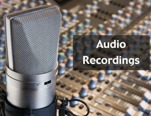 Service Recordings