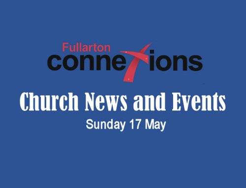 Service Sheet for Sunday 17 May.
