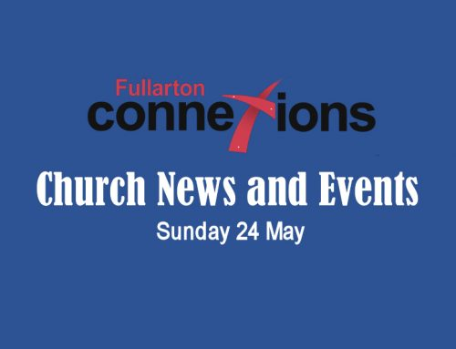 Service Sheet for Sunday 24 May.