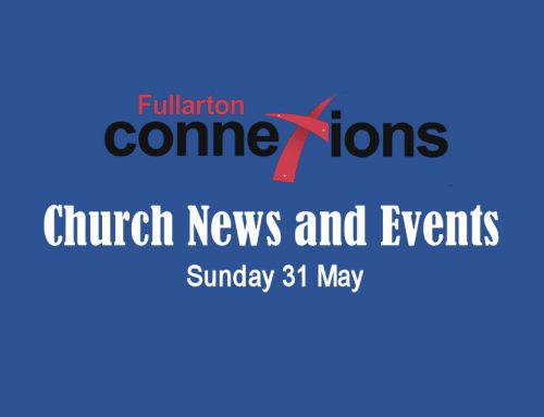 Service Sheet for Sunday 31 May.