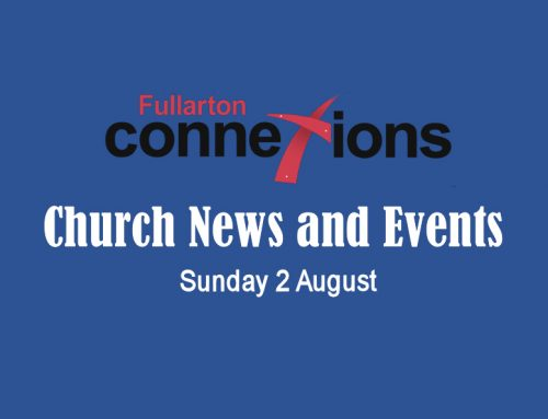 Service Sheet for Sunday 2 August.