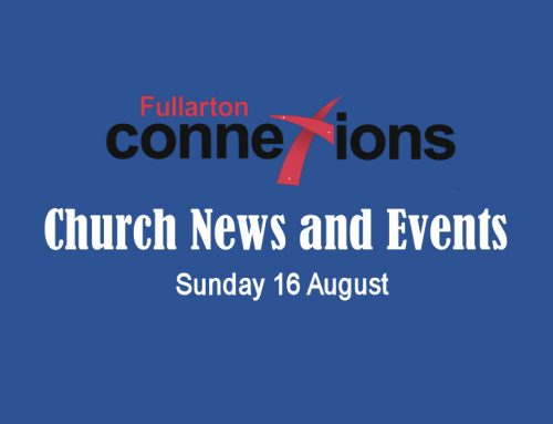 Service Sheet for Sunday 16 August.