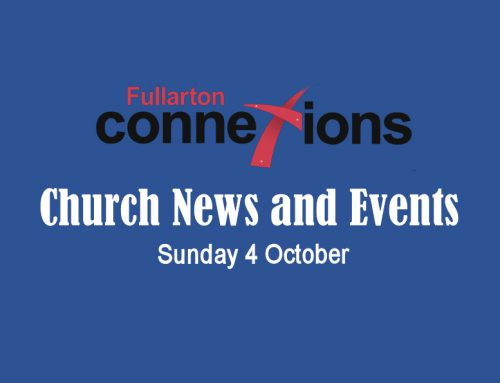 Service Sheet for Sunday 4 October.