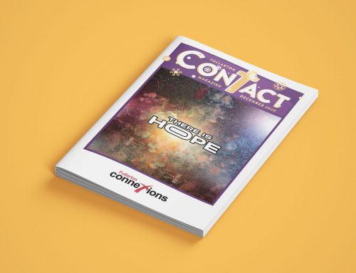 December edition of Contact Magazine.