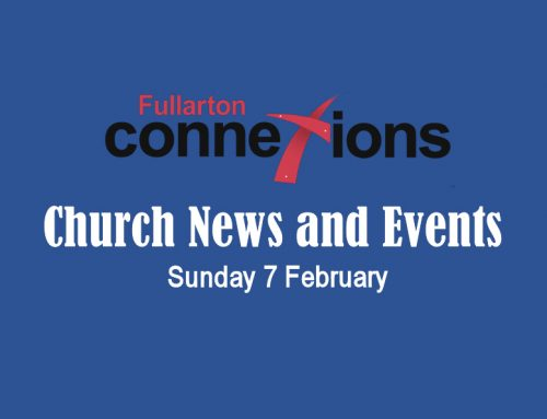 Service Sheet for Sunday 7 February.