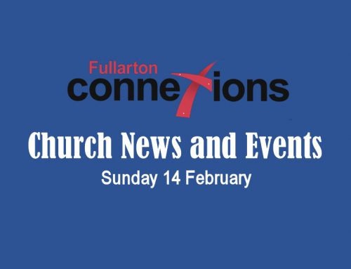 Service Sheet for Sunday 14 February.