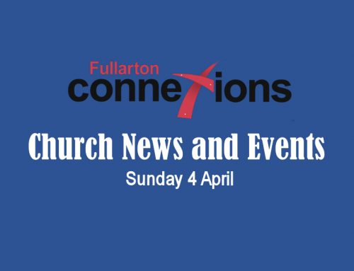 Service Sheet for Sunday 4 April.