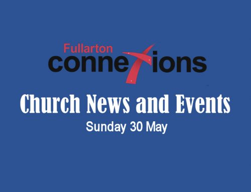 Service Sheet for Sunday 30 May.