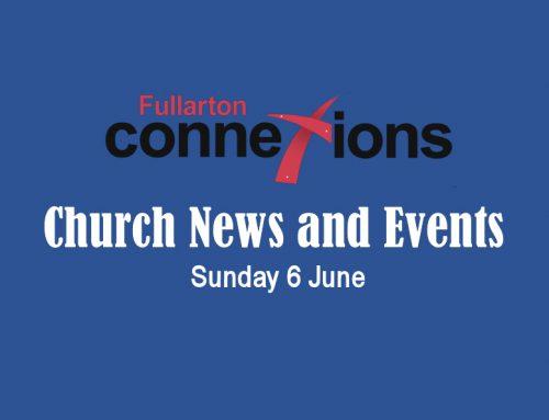 Service Sheet for Sunday 6 June.