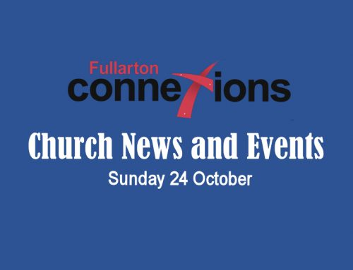 Service Sheet for Sunday 24 October.