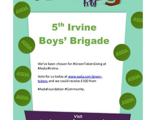 5th Irvine still needs your help.